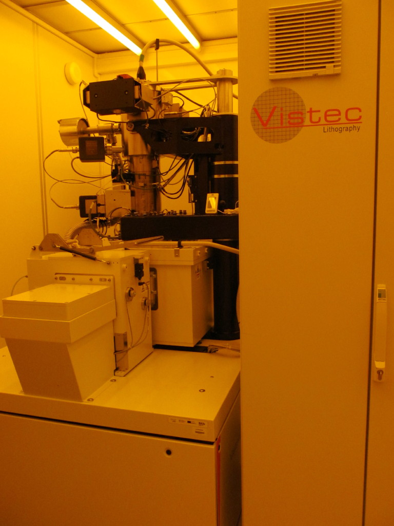 Picture of Vistec 5200 ES 100 kV Electron Beam Lithography Tool