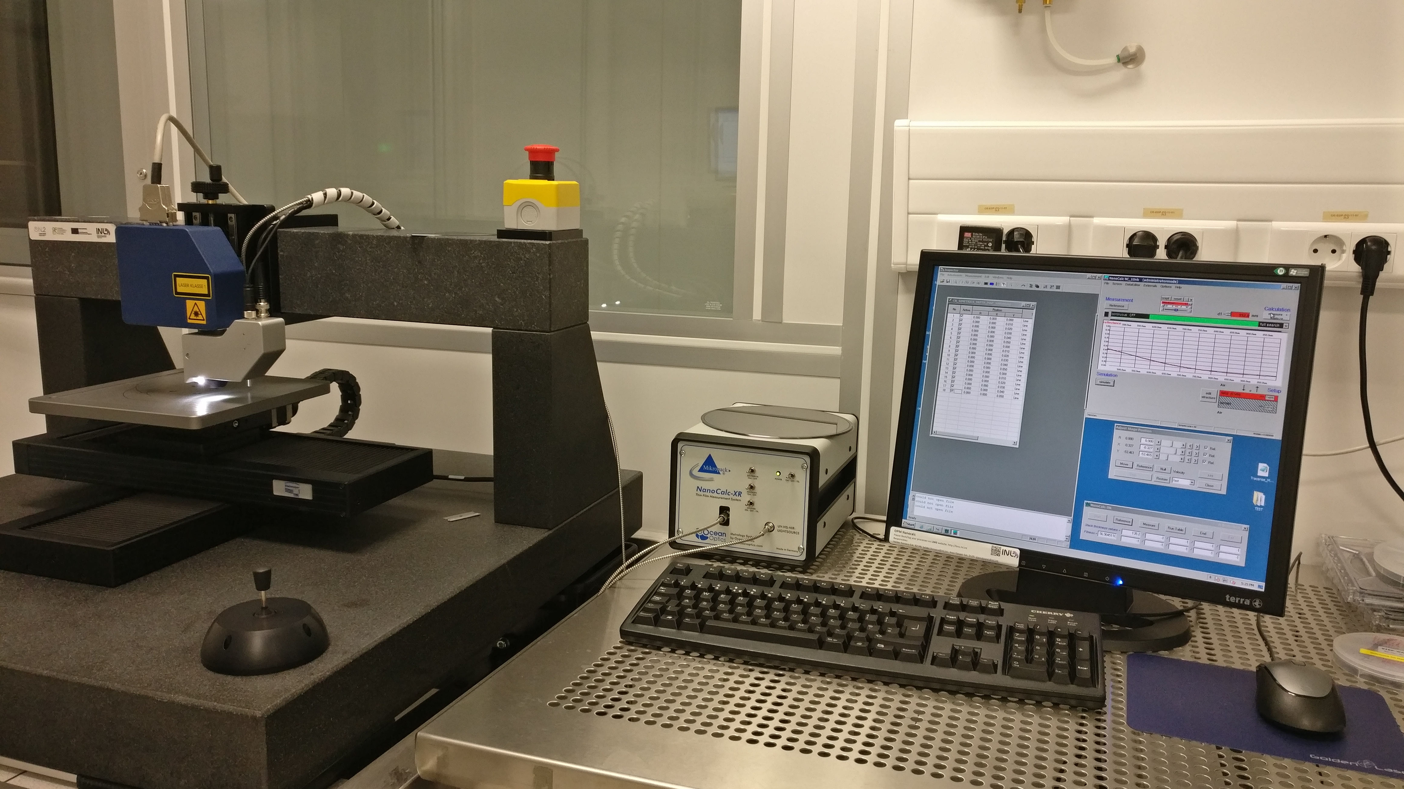 Picture of OPM Nanocalc  - Optical Profilometer / Interferometer