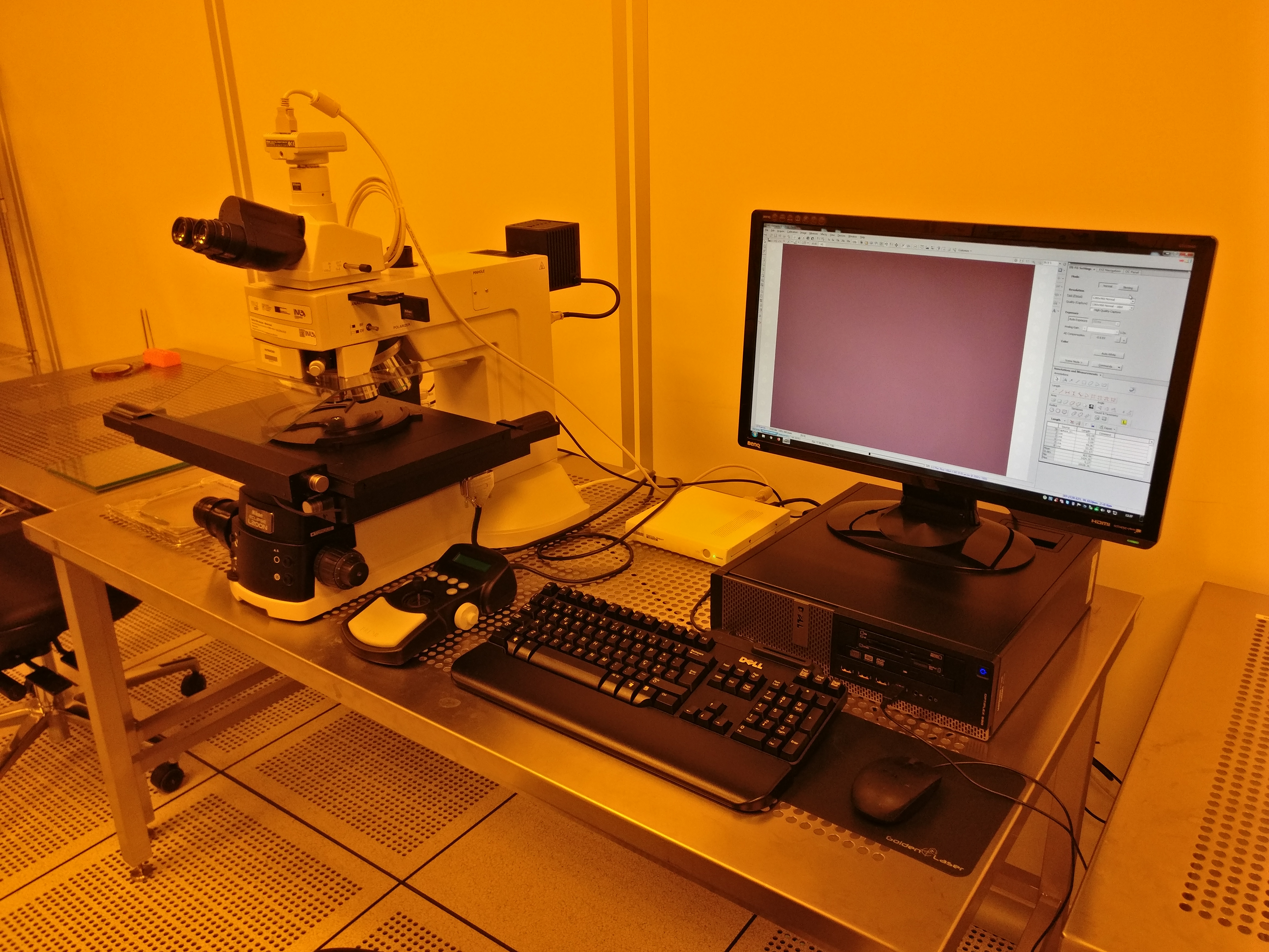 Picture of MNF_Optical Microscope - Motorized - Litho