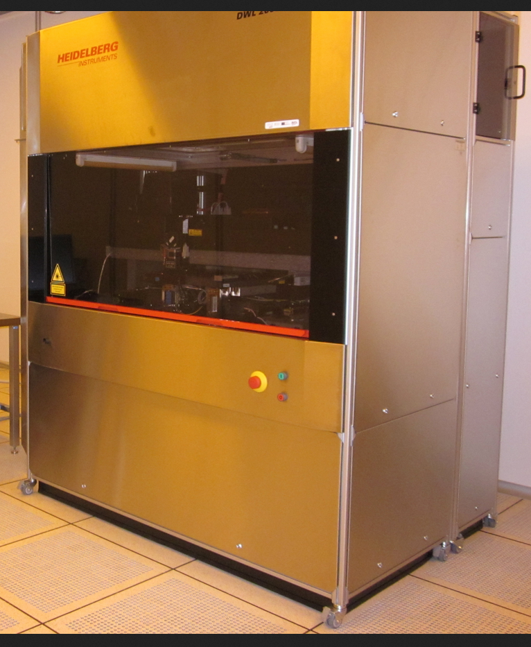 Picture of DWL Direct Write Laser Lithography