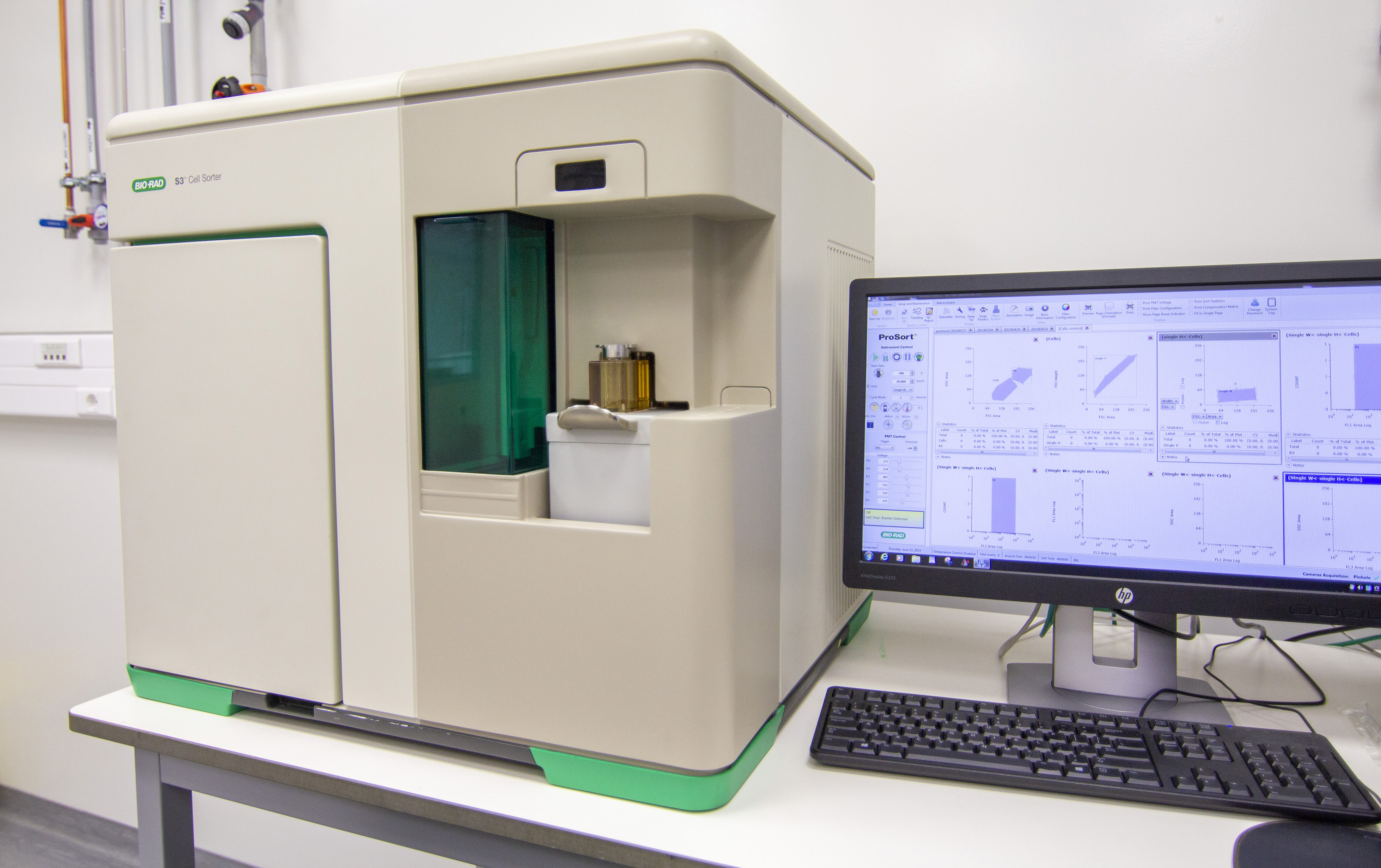 Picture of NBI - Flow Cytometry and Cell Sorter System
